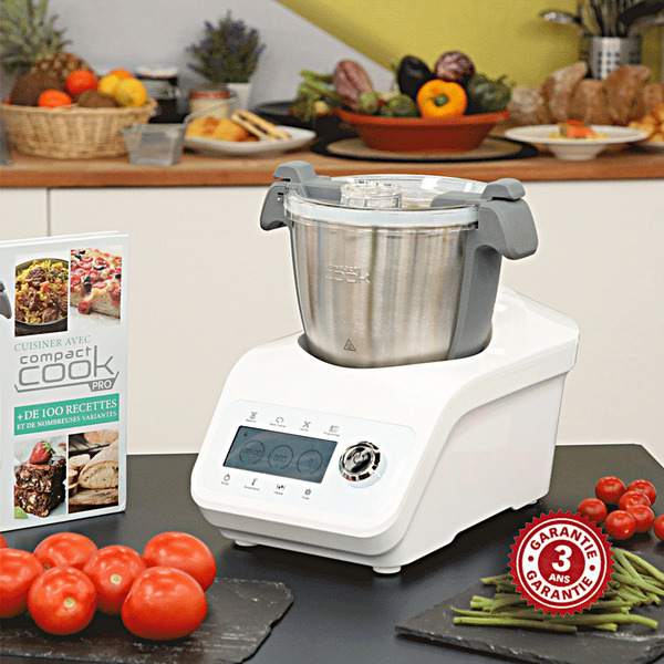 video Robot Cuiseur COMPACT COOK PRO